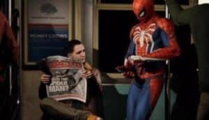 Spiderman cut scene