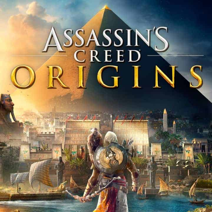 Assassins Creed open world game PS4