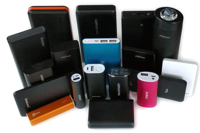 power banks must have travel gadgets