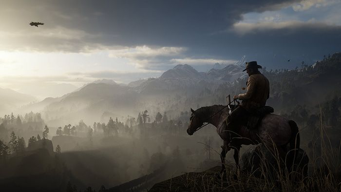 Countryside Red Dead Redemption 2