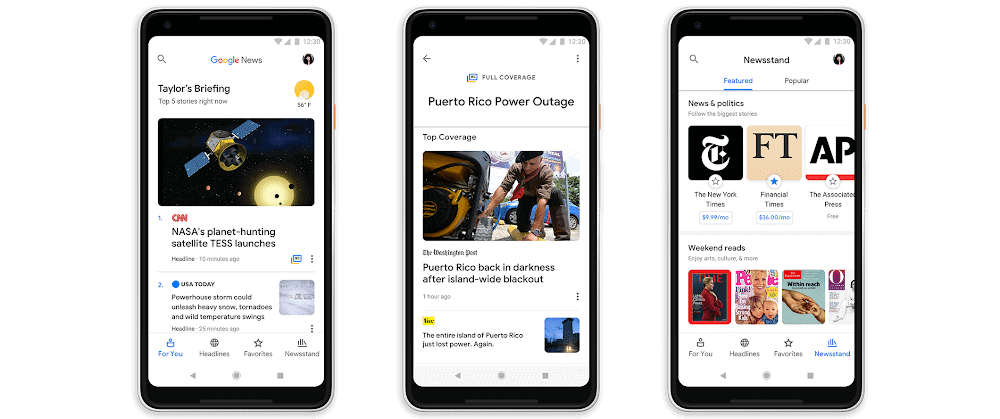Google News Coolest Android Apps 2018