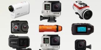 """Action cameras have been the """"it"""" thing for quite a while now. They're easy to use, pocket-size, mountable, wearable, lightweight and some of them are even fully waterproof. They still are some of the hottest gear to have in the video and film realm of today. However, because they've grown so much in popularity there are now a lot more of options you to sieve through. This can be very tricky. But hey, that's why the Gadget Gang is here. For situations exactly like this. How could we not come up with a best action cameras list to help you out. Anyway, as GoPro still reigns supreme in today's world of action camera, as will be clear even on this list, there are several other new players worth a mention. From no-name budget developers and manufacturers to huge conglomerates such as Sony. Each of the cameras we've highlighted is adept at shooting high-quality videos as well as being fun to use. While action cameras are principally associated with shooting videos, the best action cameras provide awesome still shots as well. Without further ado, here's the list of what you should be considering. GoPro Hero7 Black Okay, if you thought Hero6 Black was the best GoPro had to offer, you'll need to think again. There's a new big kahuna in town and undoubtedly the new action camera king hands down. While they may share similar headline video specifications, the new Hero7 still has a number of major improvements on offer. The most notable being the introduction of their brand new HyperSmooth image stabilization tech. This is actually a very impressive feature that helps deliver gimbal-smooth video footage. An additionally interesting new feature is TimeWarp video. This is a concept that combines HyperSmooth, stabilized hyperlapses, with regular time-lapse, frame-by-frame shooting, which still can be done separately. Also, the user experience has been improved through a user interface overhaul. Delivering silky-smooth 4K video footage, there's no place for the Hero7 Black but at t"""