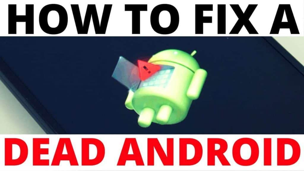 Dead Android Tablet