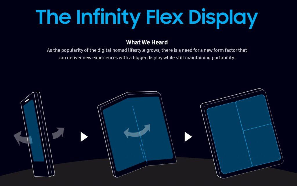 Design Foldable Samsung