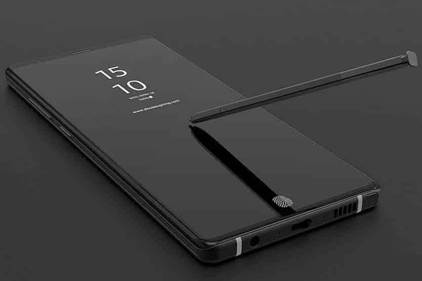 Design Galaxy Note 9
