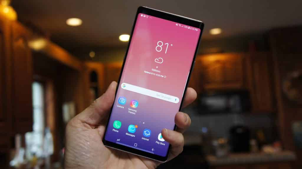 Display Galaxy Note 9