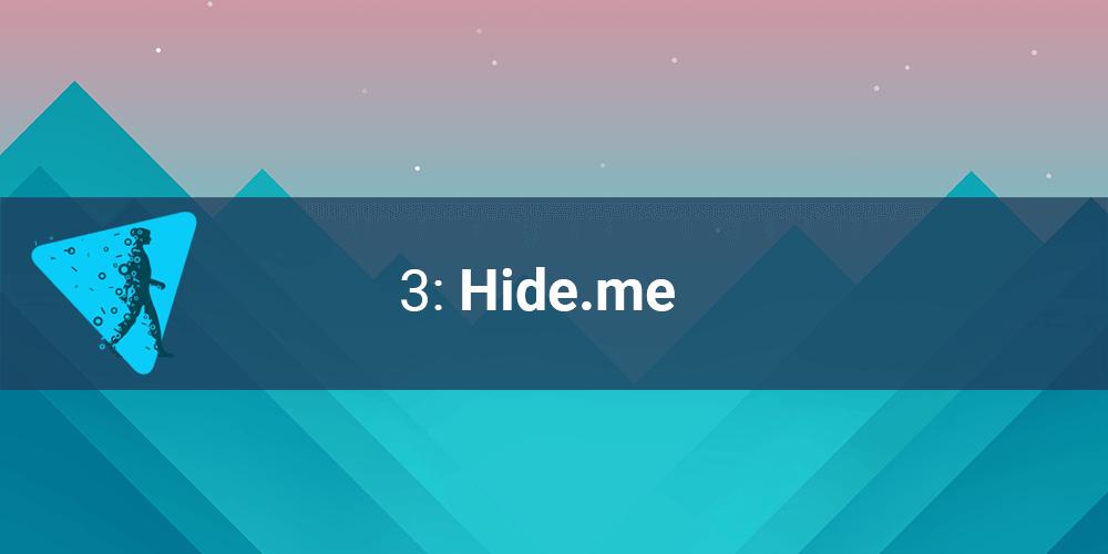 FREE Hide.me VPN