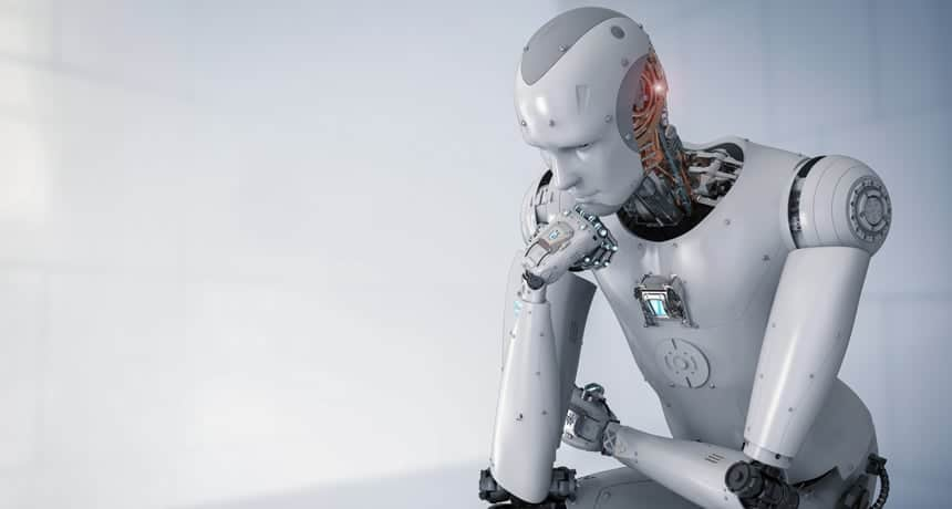 Machine thinks Machine Learning and Artificial Intelligence