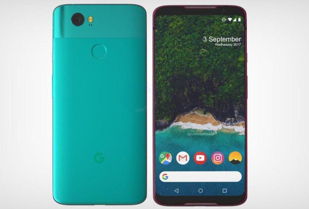 Design Google Pixel 3