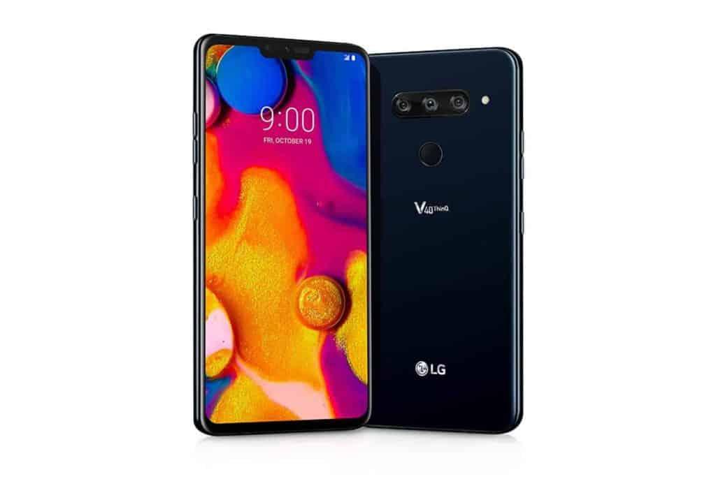 Design LG V40 ThinQ