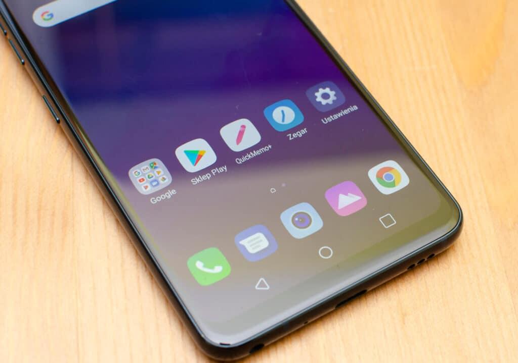 Display LG V40 ThinQ