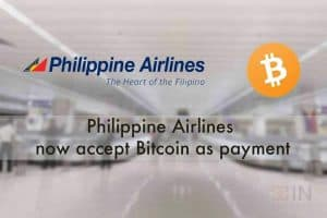 Philippine Airlines accepts Bitcoin