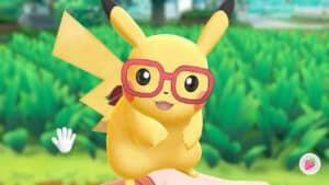 Pikachu from Pokemon Lets Go