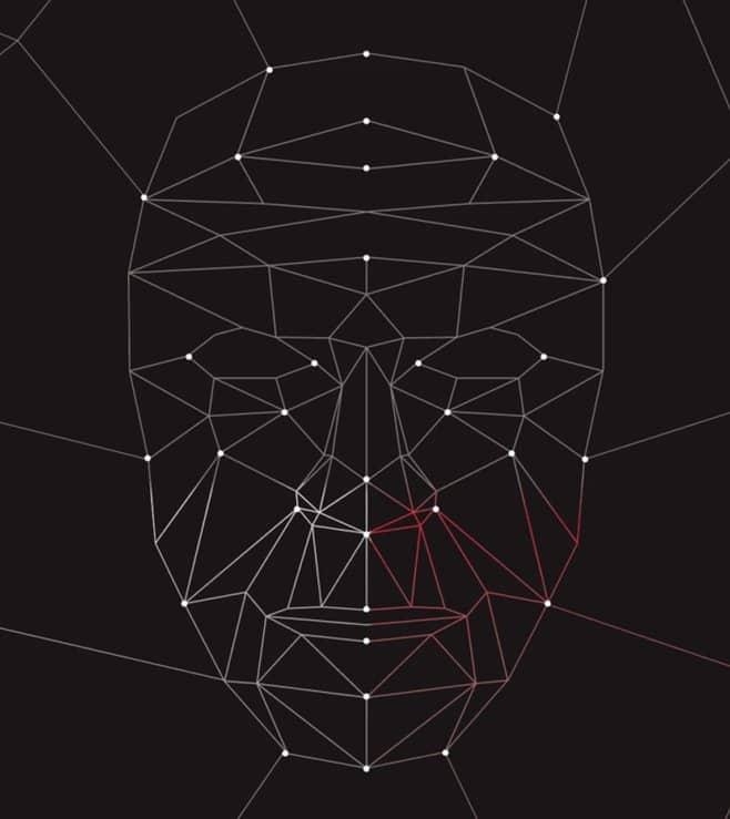 Facial Recognition Nodal Points