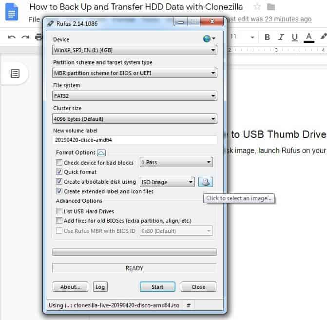 How to Back Up and Transfer HDD Data with Clonezilla
