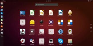Ubuntu 18.04.1 GNOME