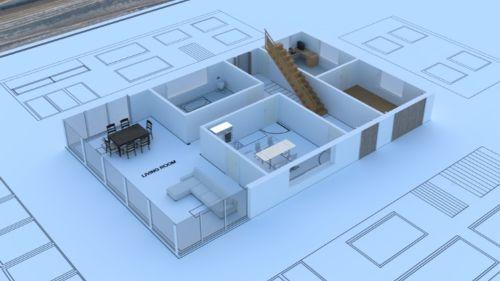 3D Modeling Architectural Design