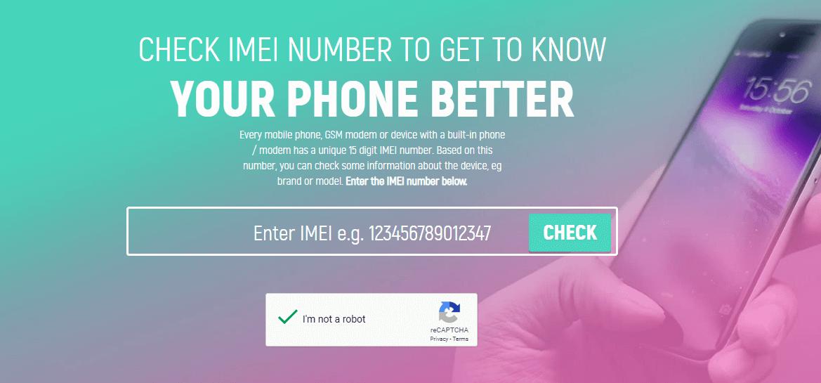 phone imei checker