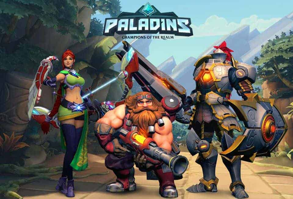 Paladins Champions of the Realm