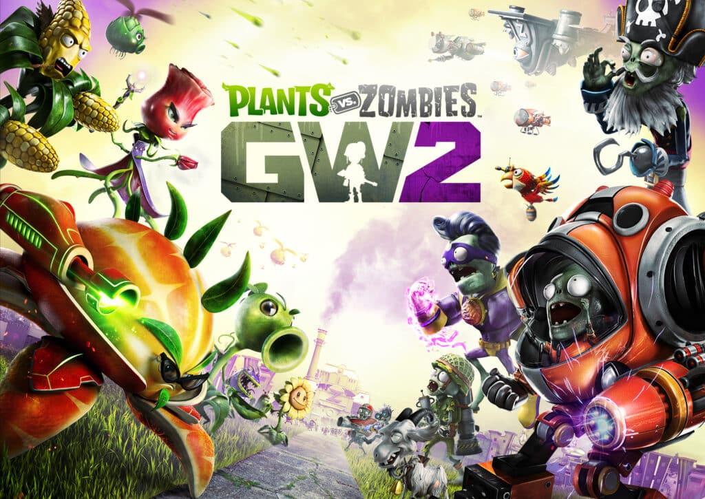 Plants vs zombies garden warfare 2 logo