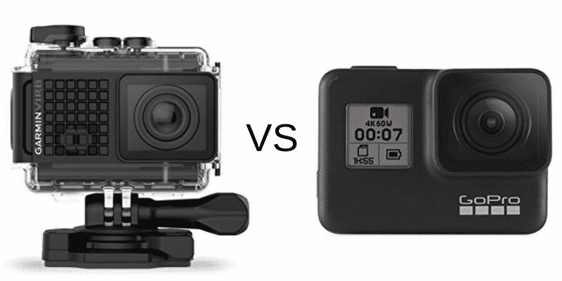 Garmin VIRB Ultra 30 Camera vs GoPro Hero 7 Black cover