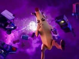 Fortnite Season X banana avatar