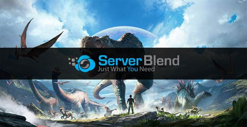 Serverblend ARK hosting provider