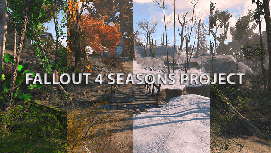 Fallout 4 Seasons – Grass – Trees – Plants – Snow