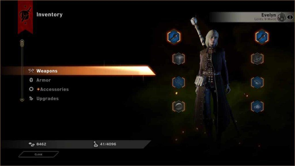 Dragon Age: Inquisition - Inventory Capacity