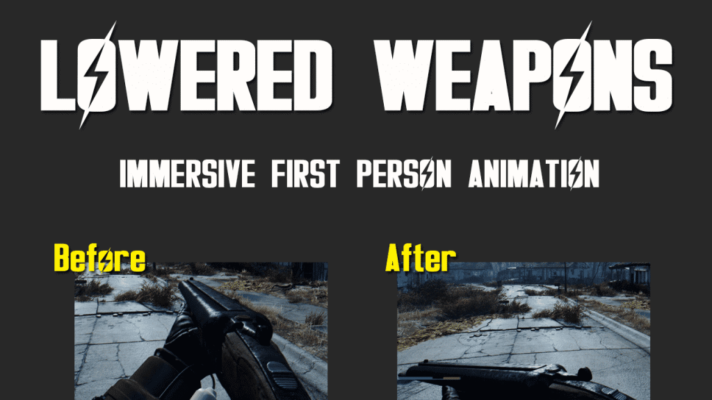 Lowered Weapons
