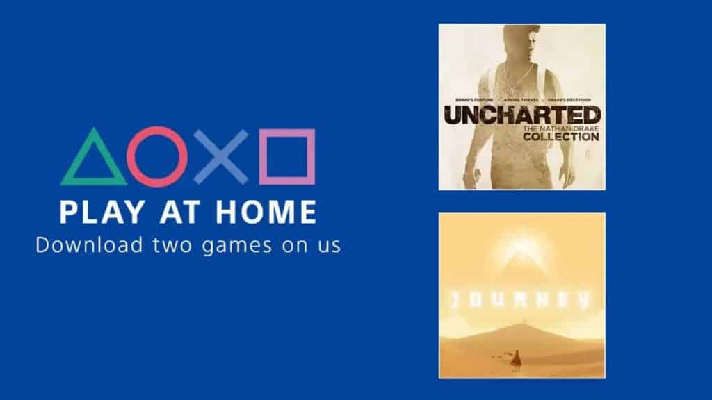 PlayStation - Play at Home initiative