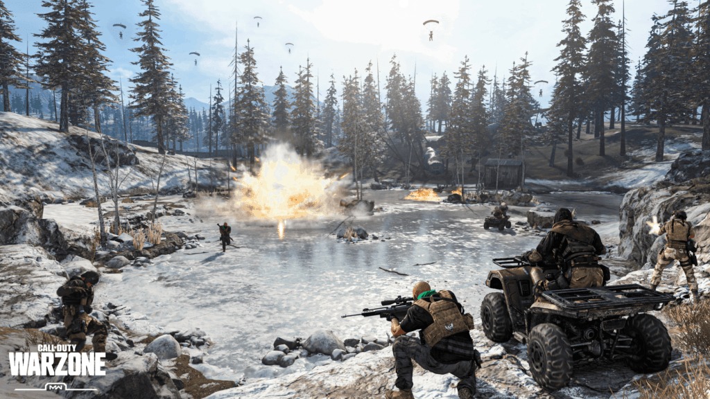 Call Of Duty Warzone - Raiding Cash Deposit Helipads