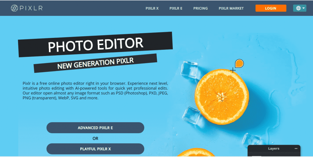 Pixlr graphic design